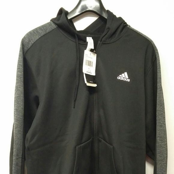 Adidas Climawarm Vello Giacca Con Cappuccio Nwt Poshmark